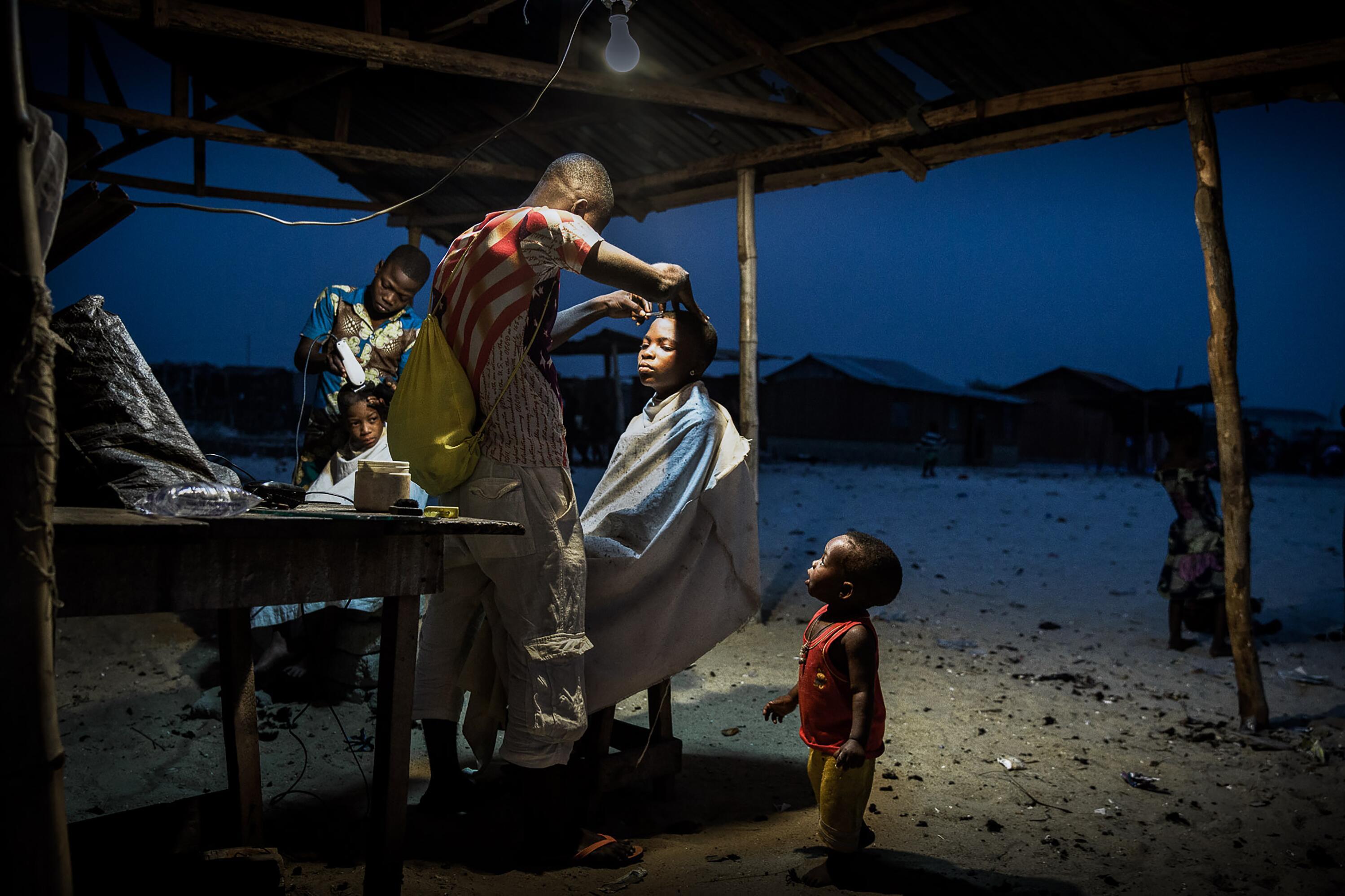 Bild zu Nigeria, Fischer, Makoko, Lagos