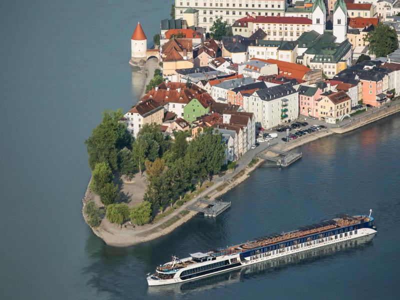 Bild zu Passau von oben