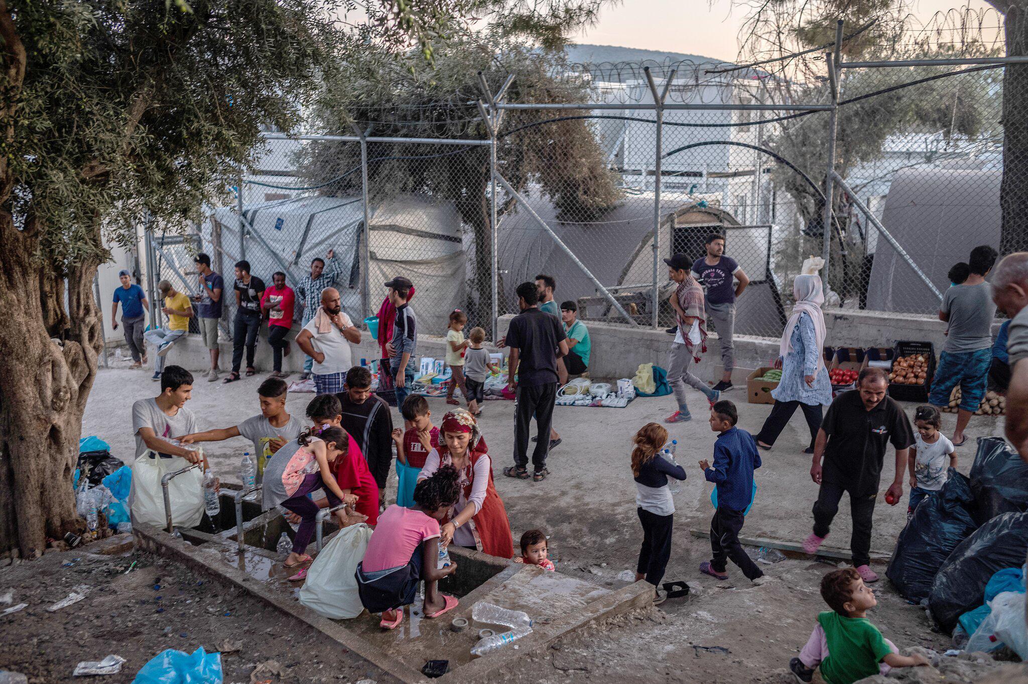 Bild zu Habeck will Kinder aus griechischen Flüchtlingslagern holen