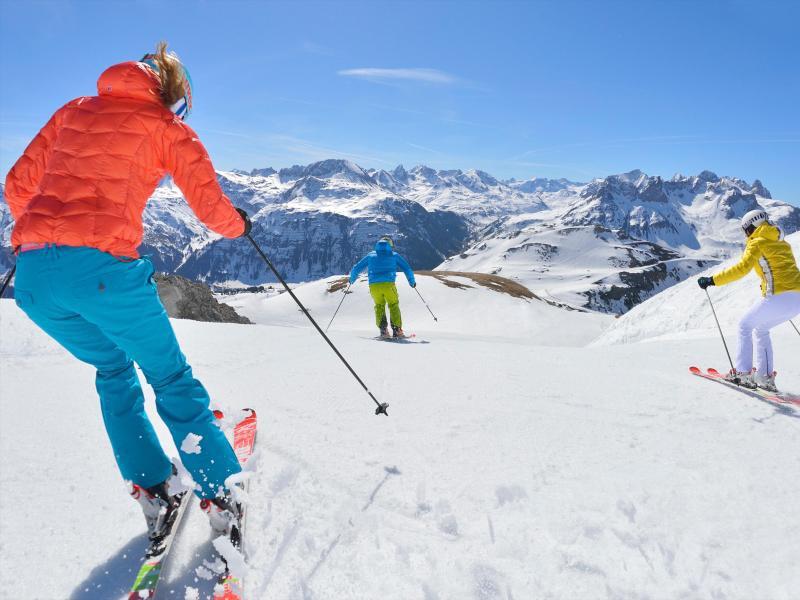 Bild zu Skigebiet amArlberg