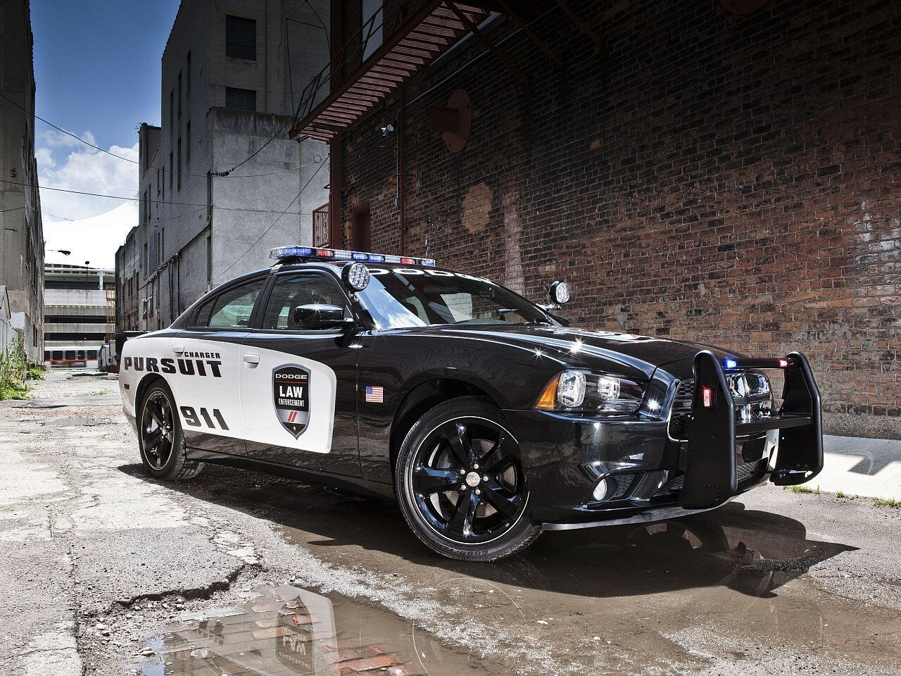 Bild zu Der Alptraum eines jeden Rasers: Der 2012er Dodge Charger Pursuit