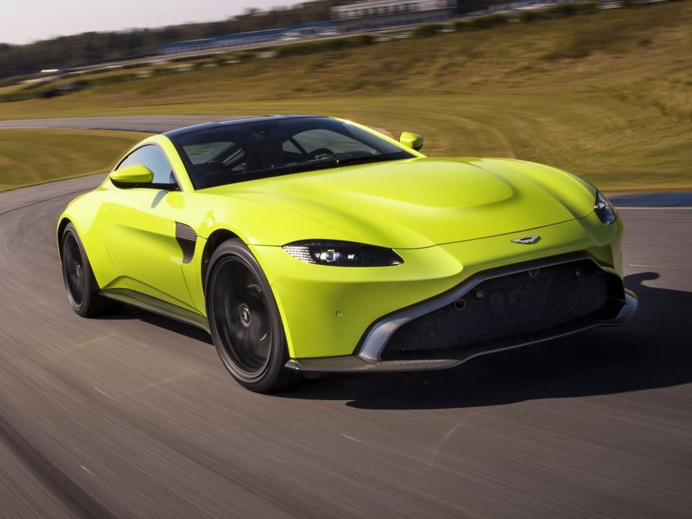 Bild zu Leichter, schneller, kompromissloser: Premiere des neuen Aston Martin Vantage