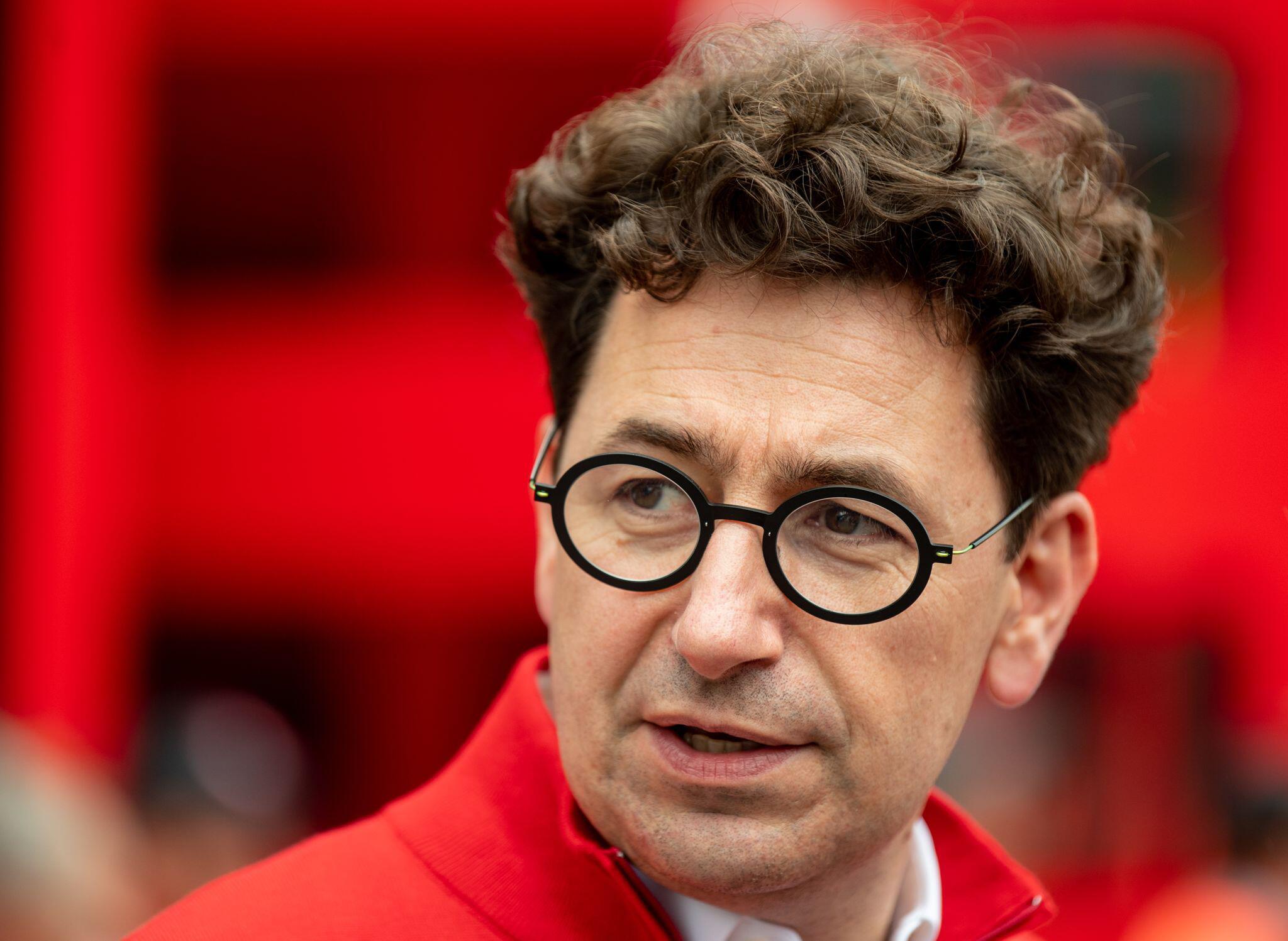 Bild zu Ferrari-Teamchef Binotto