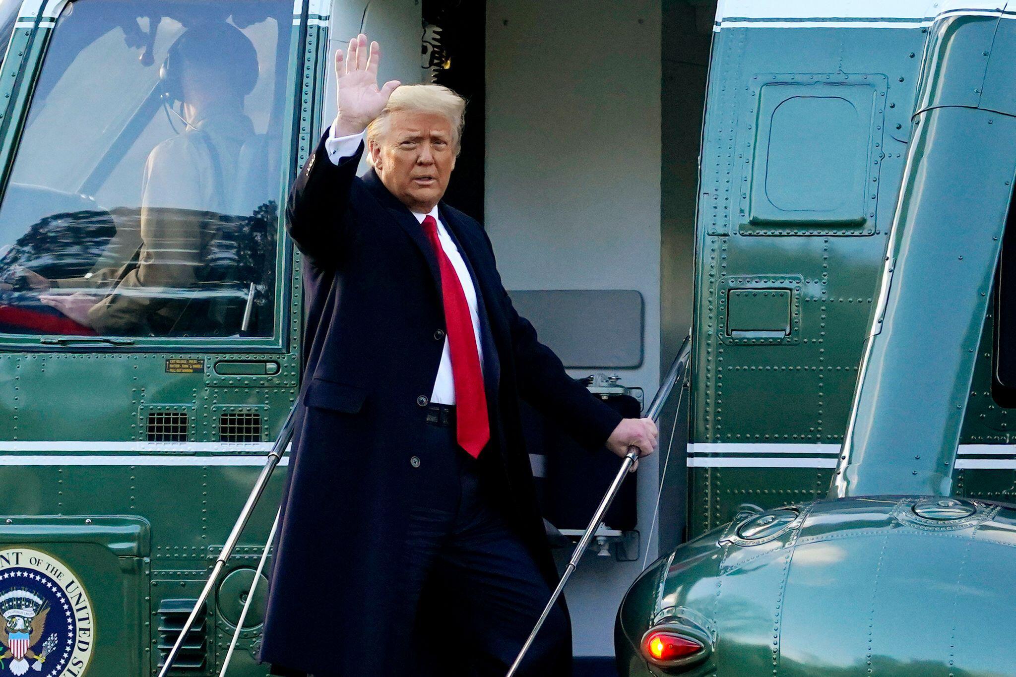 Bild zu Trump geht mit neuen Verteidigern in Amtsenthebungsverfahren