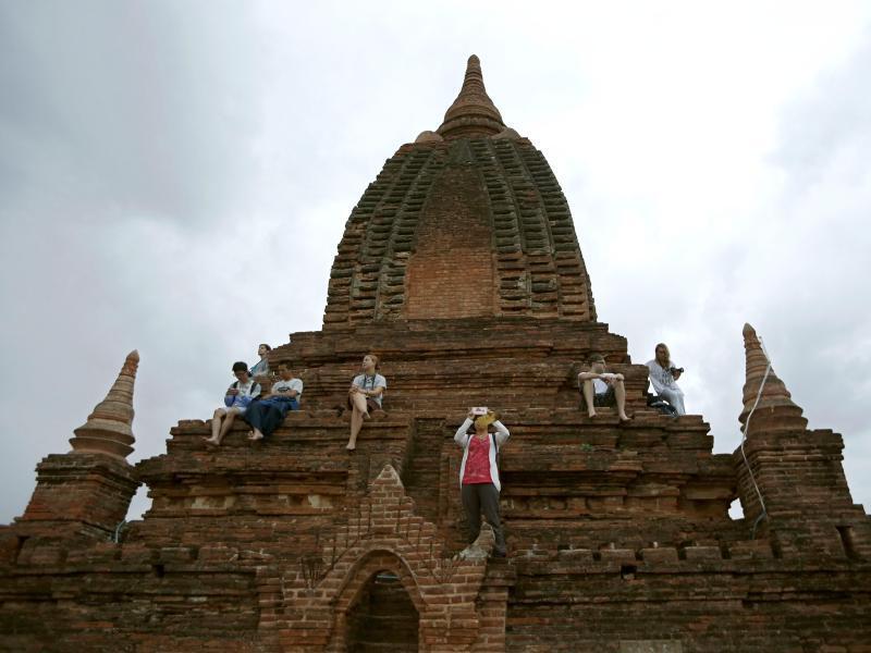 Bild zu Bagan in Myanmar