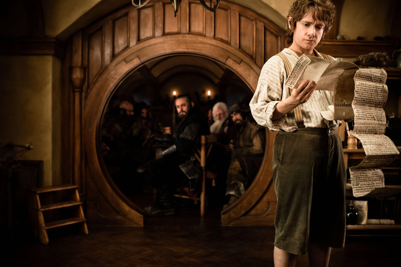 Bild zu Martin Freeman als Bilbo Beutlin