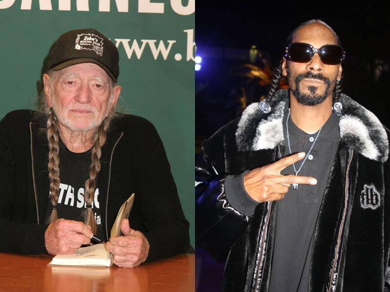 Bild zu Willie Nelson und Snoop Dogg