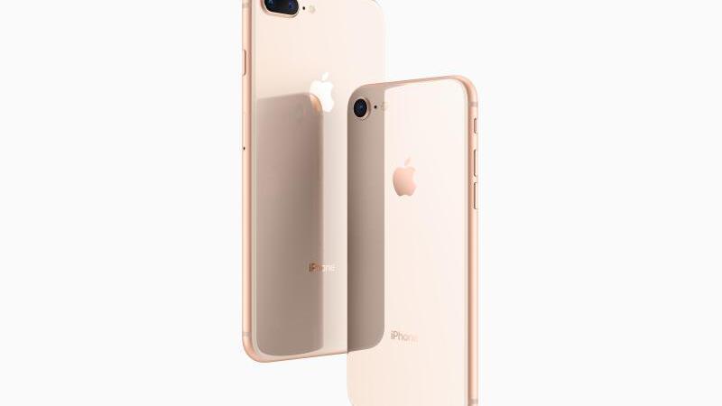 Schnelles Laden von iPhone 8 und 8 Plus