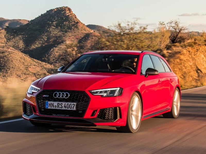 Bild zu Audi A4 Avant RS