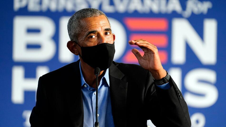 Wahlkampf in den USA - Obama