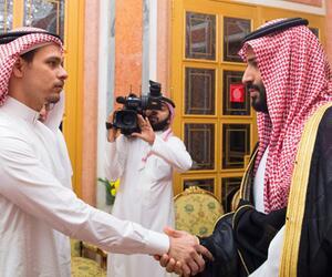 Sohn von vermisstem Journalisten bei König Salman