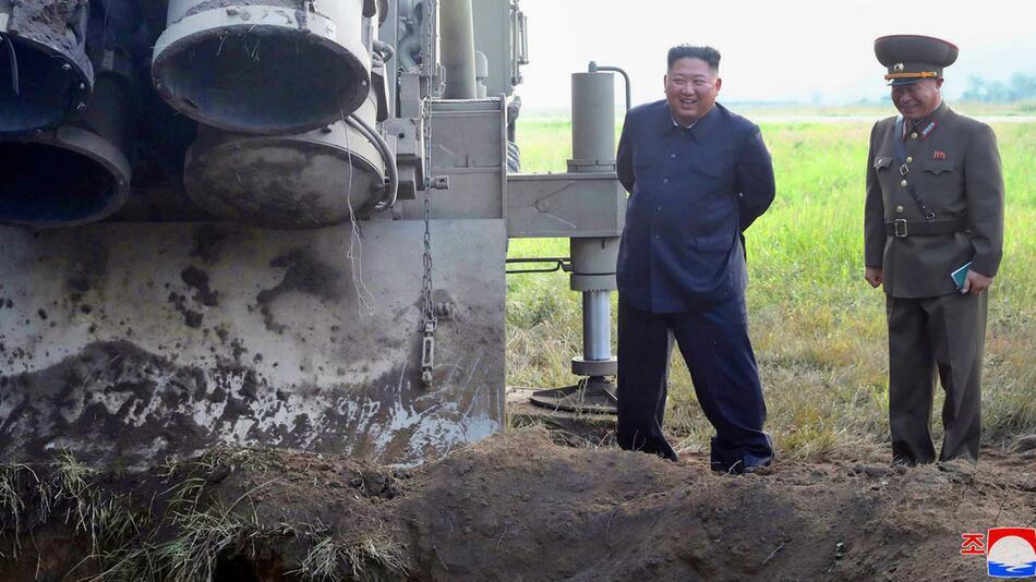 Nordkorea - Nach dem Waffentest