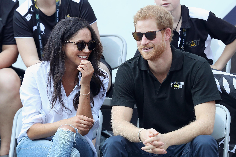 Bild zu Prince Harry, Meghan Markle