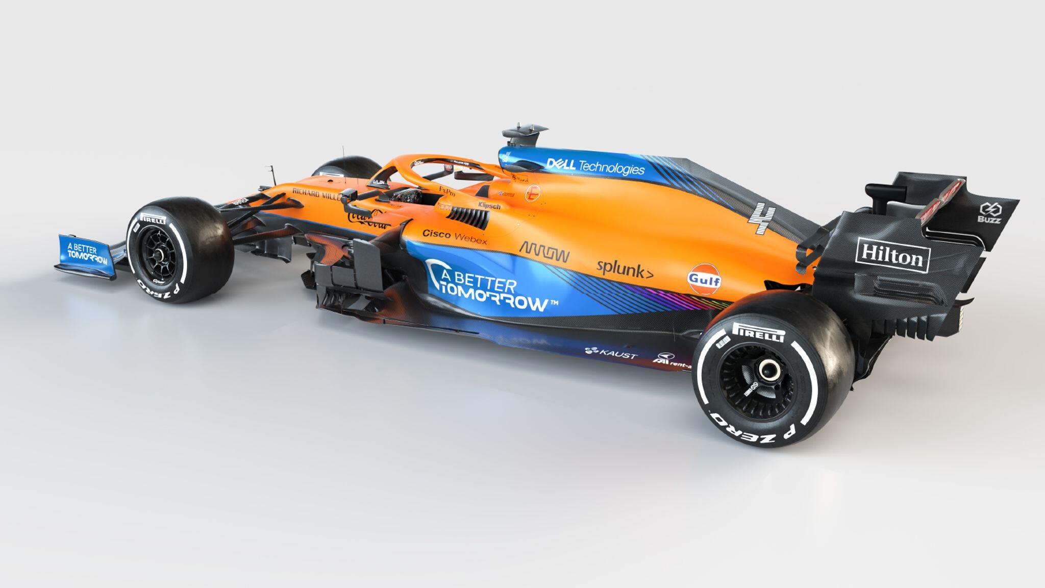 Bild zu MCL35M von McLaren Mercedes