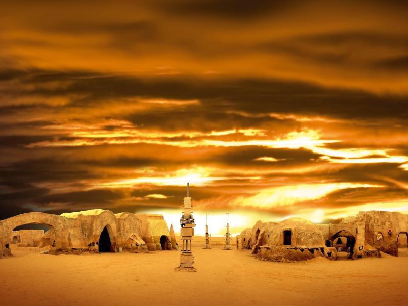 Bild zu Tunesische «Star Wars»-Stadt Mos Espa