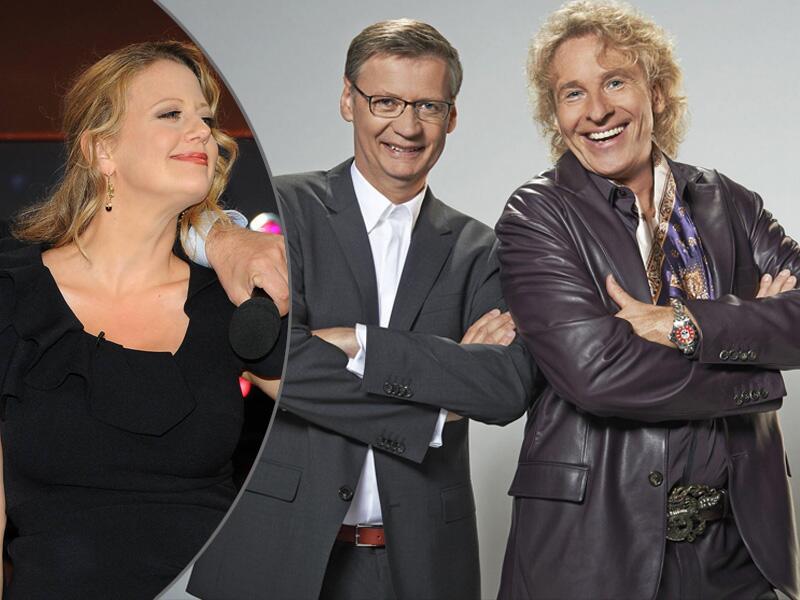 Bild zu Barbara Schöneberger, Günther Jauch und Thomas Gottschalk