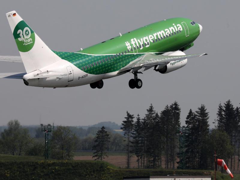 Bild zu Flugzeug von Germania