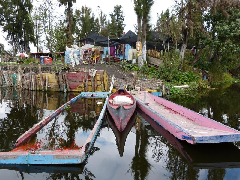 Bild zu Schrebergärten am Ufer