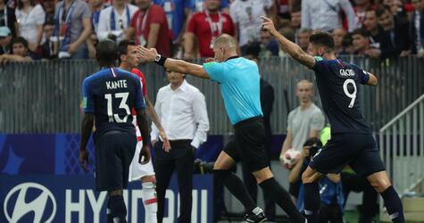 WM 2018 - Frankreich - Kroatien