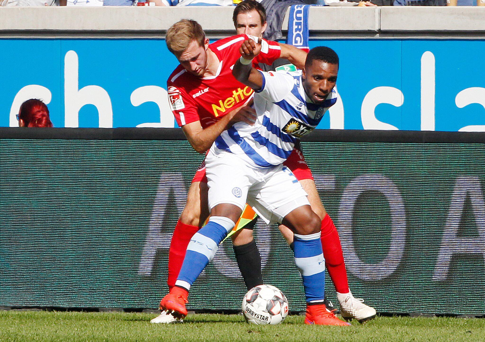Bild zu MSV Duisburg vs Jahn Regensburg