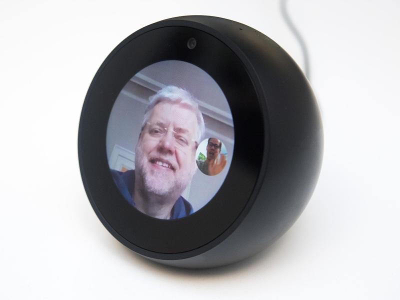 Bild zu Videotelefonate mit Echo Spot