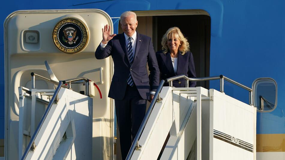 Vor dem G7-Gipfel in Cornwall - Biden