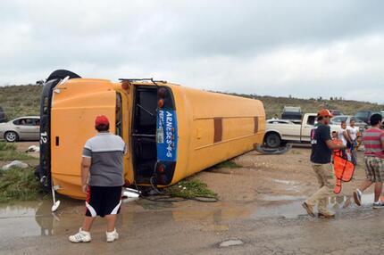 Tornado verwüstet Mexiko