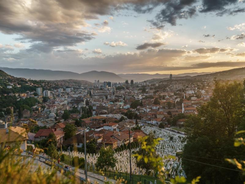 Bild zu Sarajevo