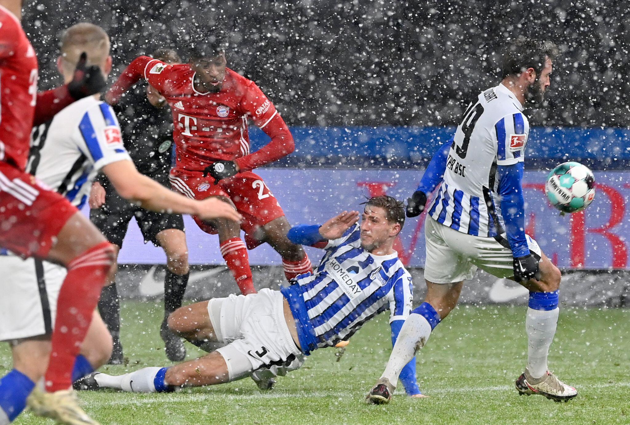 Bild zu Hertha BSC - FC Bayern München