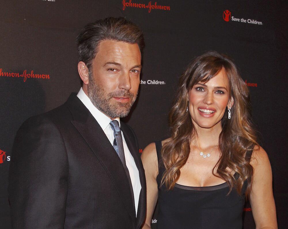 Bild zu Ben Affleck und Jennifer Garner bei einer Veranstaltung in New York