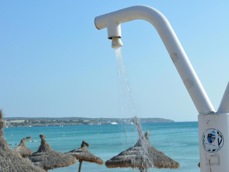 Bild zu Stranddusche auf Mallorca