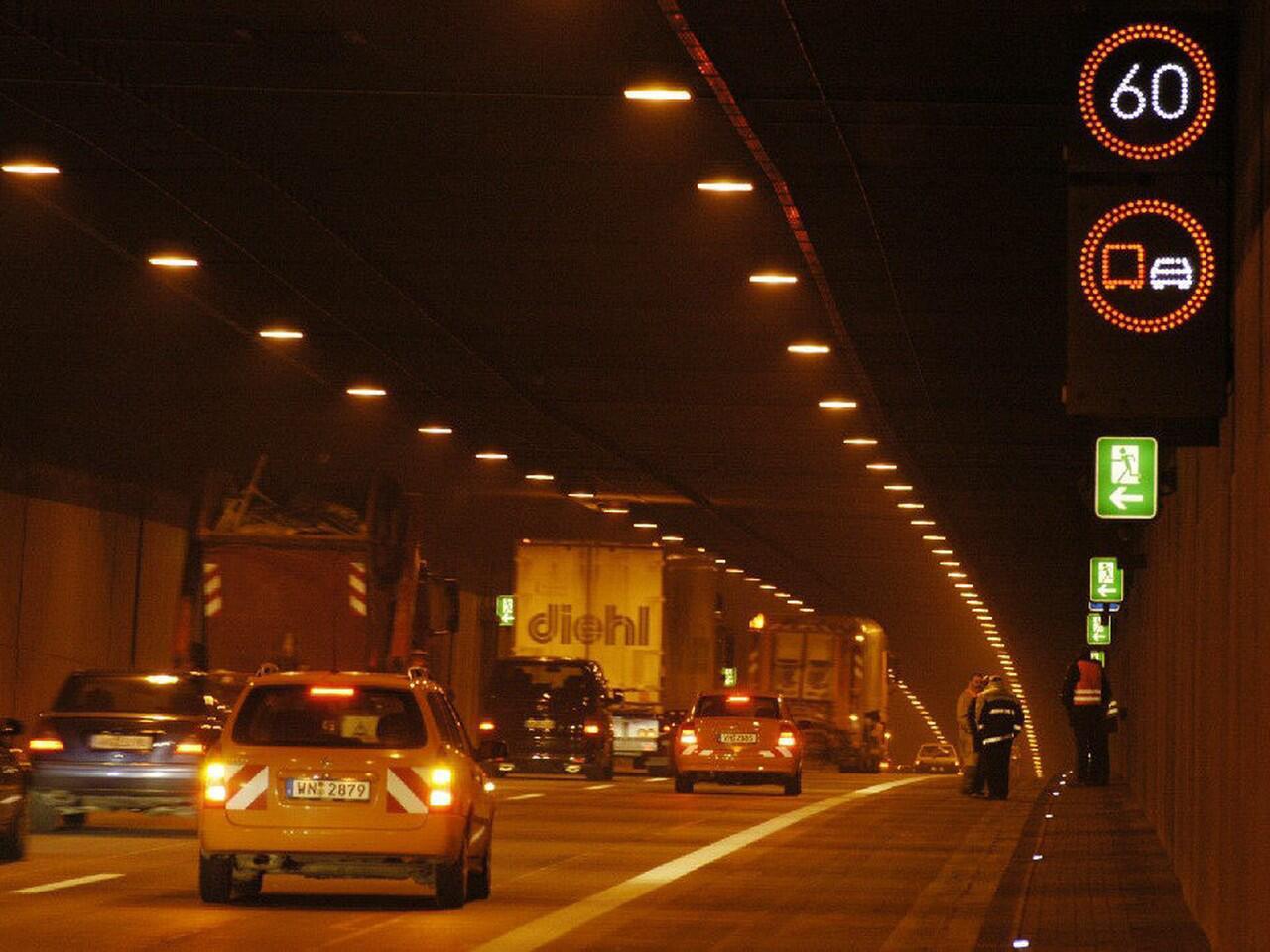 Bild zu Autofahren im Tunnel: Nicht jedermanns Sache