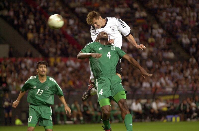 Bild zu Kopfball-Festival beim Spiel gegen Saudi Arabien