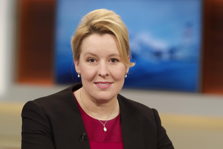 Bild zu Familienministerin Franziska Giffey, SPD