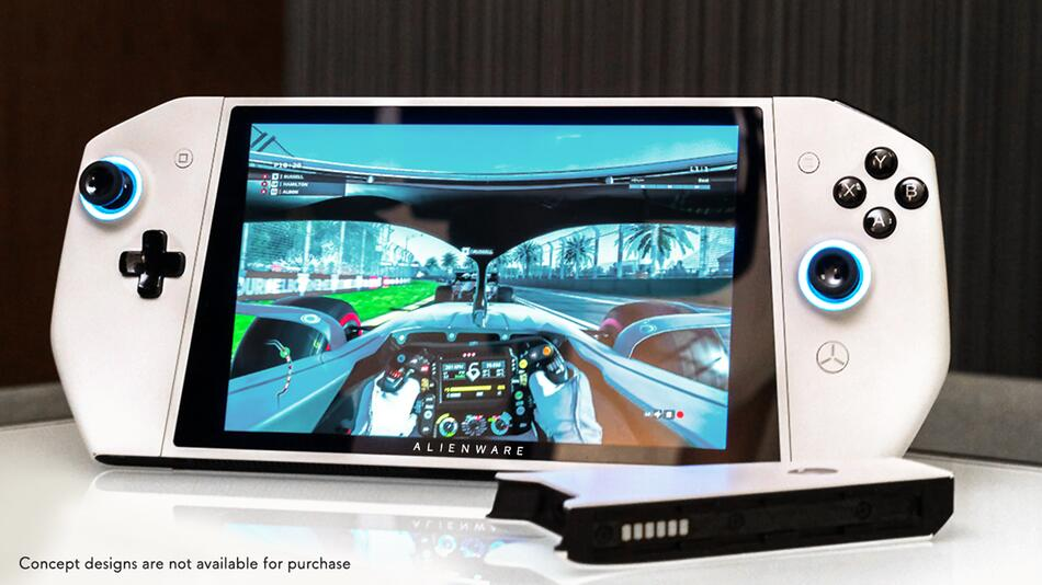 Dell, Alienware, Concept Ufo, Ufo, Switch, Klon, Windows, Handheld, PC, Gaming, Games, Spiele