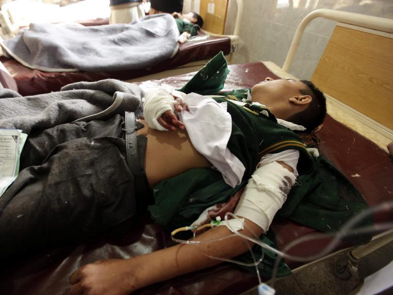 Bild zu Verletzter Junge