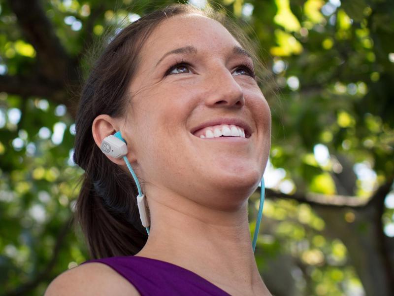 Bild zu In-Ear-Kopfhörer beim Sport
