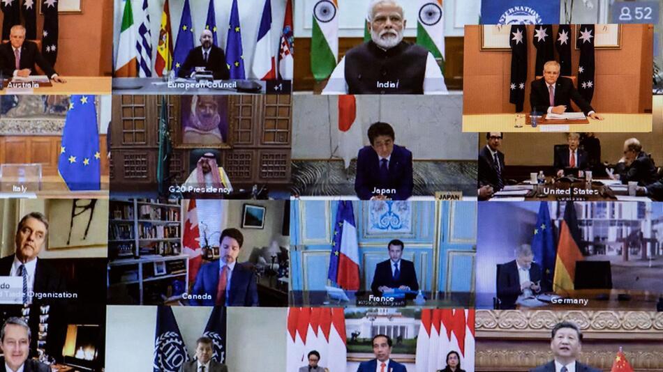 Coronavirus - G20 Video-Gipfel