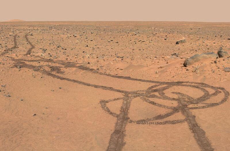 "Bild zu ""Mars-Penis"""