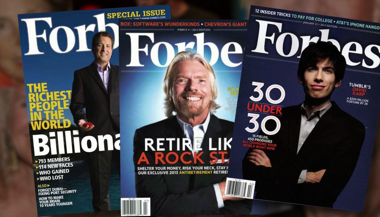 Bild zu Forbes Liste