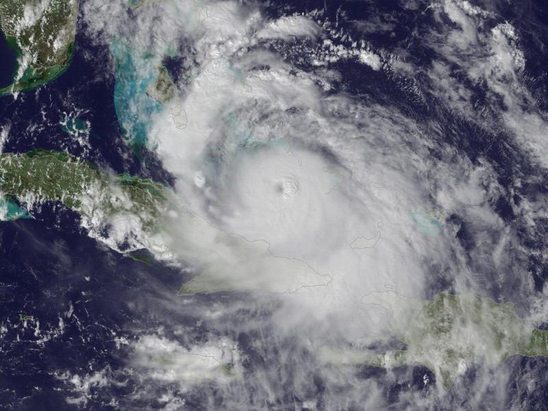 Bild zu Hurrikan «Matthew»