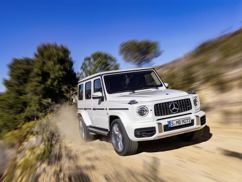 Bild zu Mercedes G-Klasse als AMG G 63