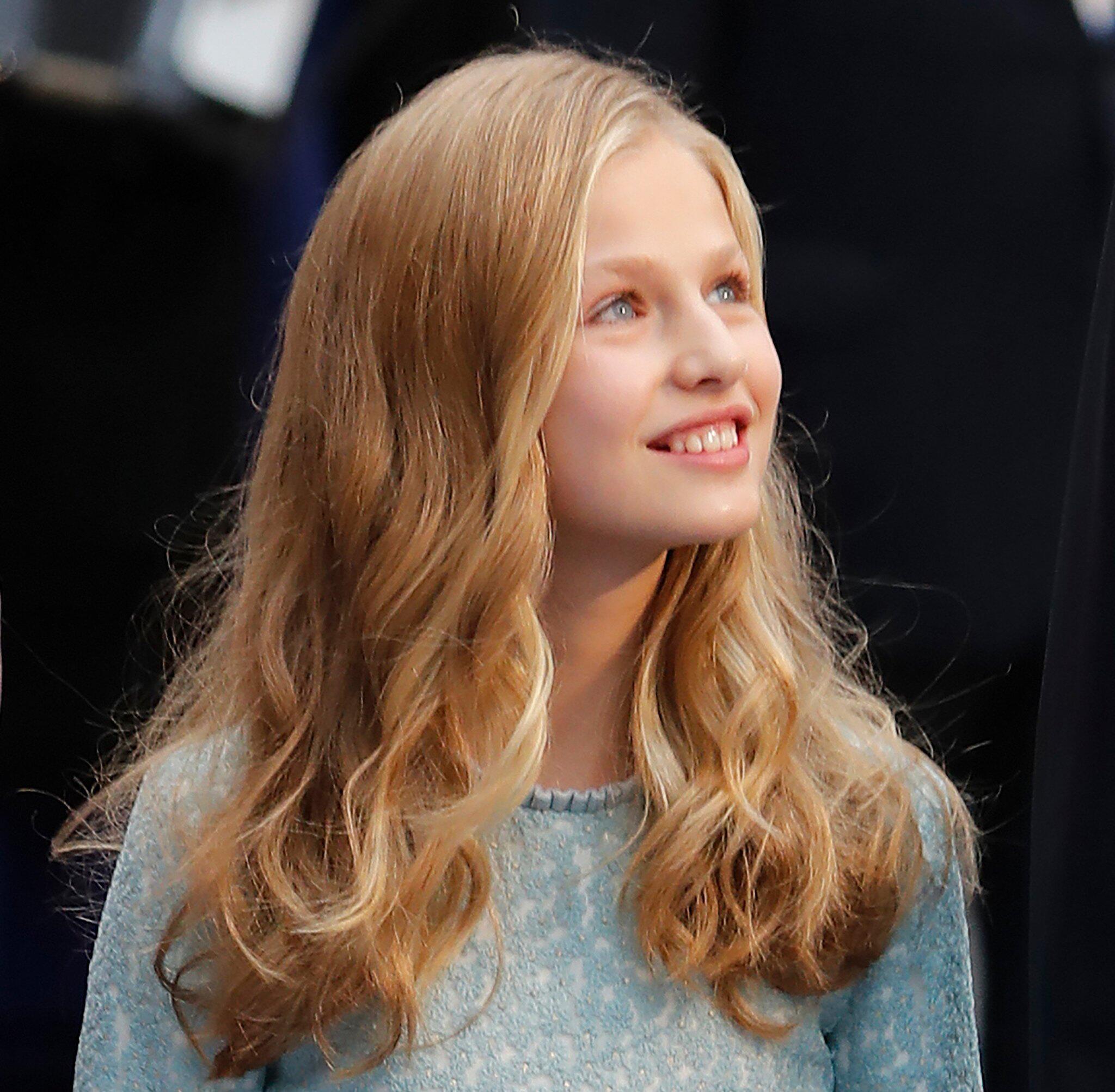 Bild zu Kronprinzessin Leonor von Spanien wird 14
