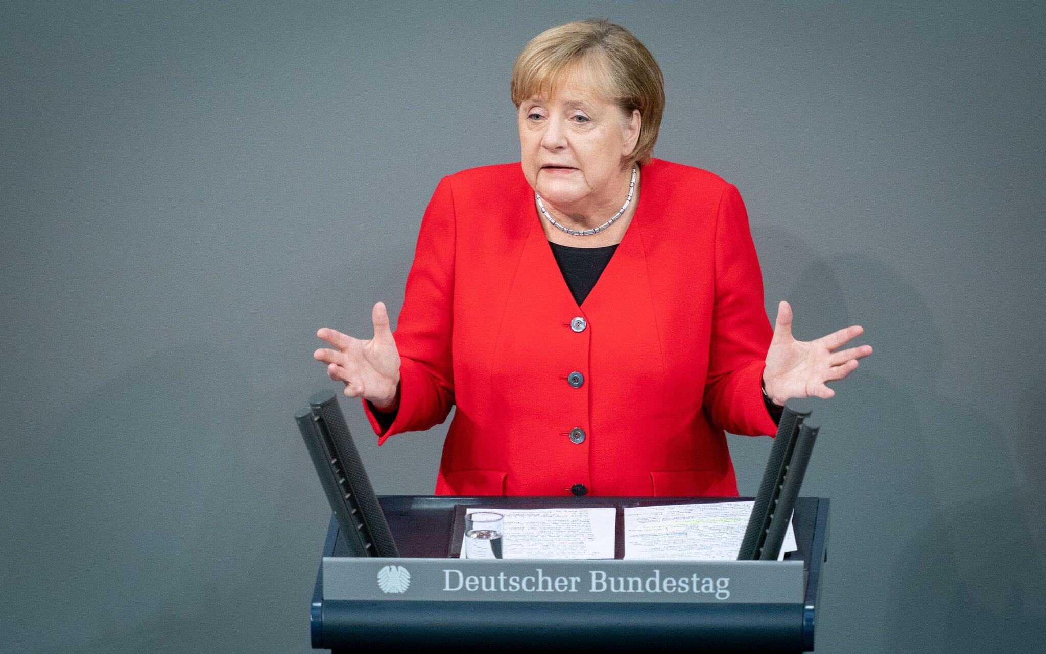Bild zu BundestagBundeskanzlerin Angela Merkel