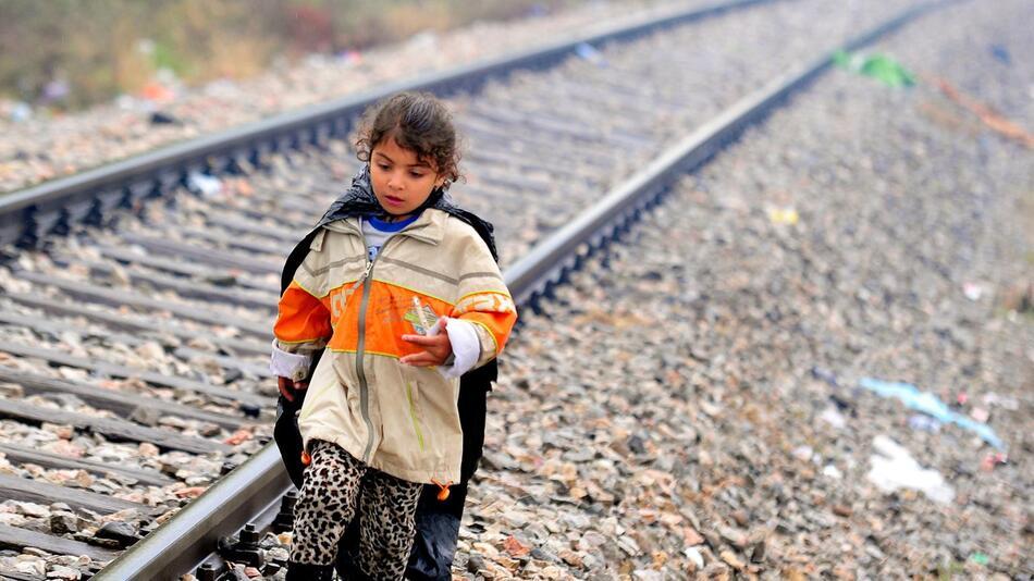 Flüchtlinge, Mazedonien