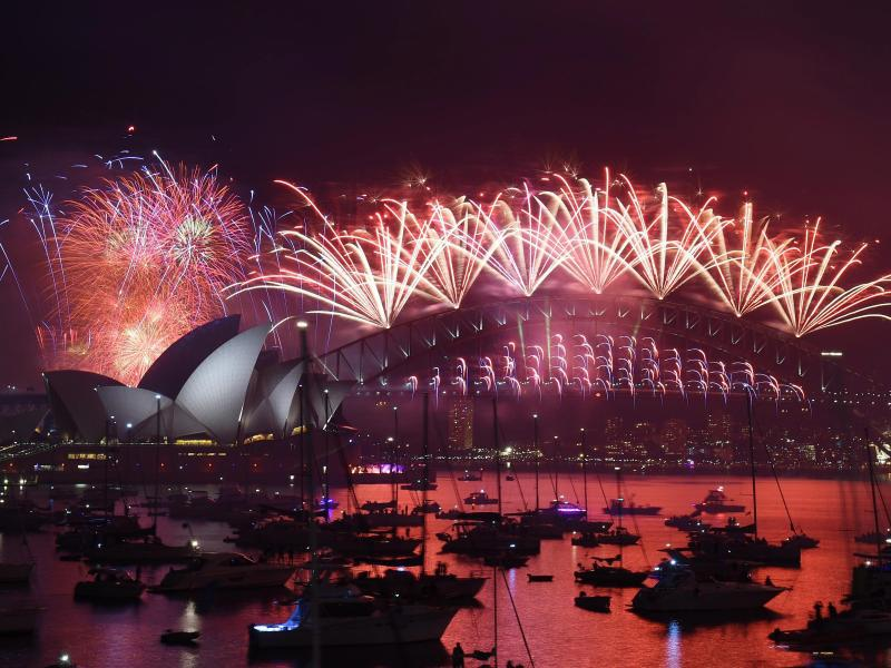 Bild zu Silvester in Sydney