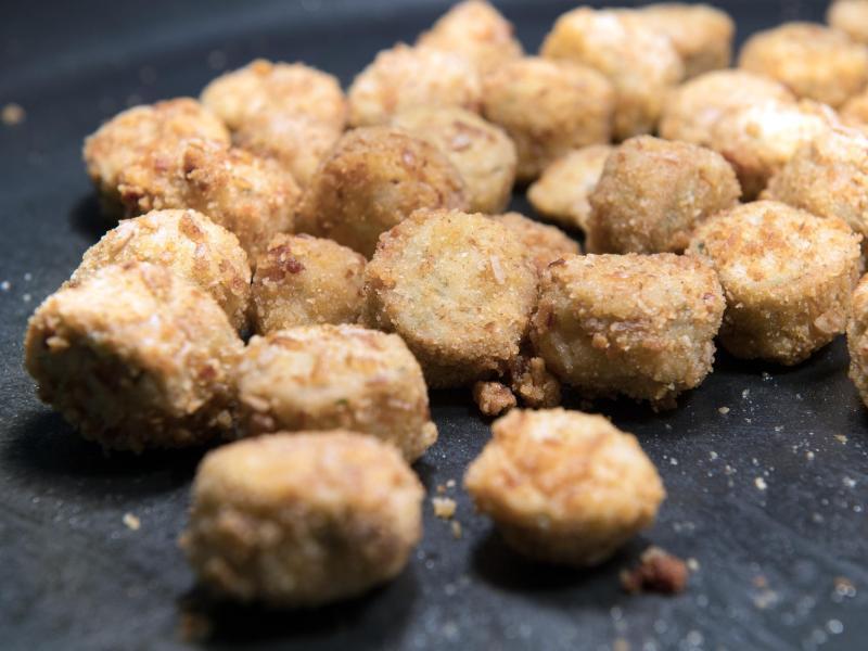 Bild zu Frittierte Weißwurst