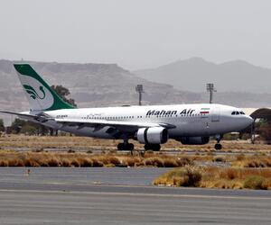Flugzeug der Mahan Air