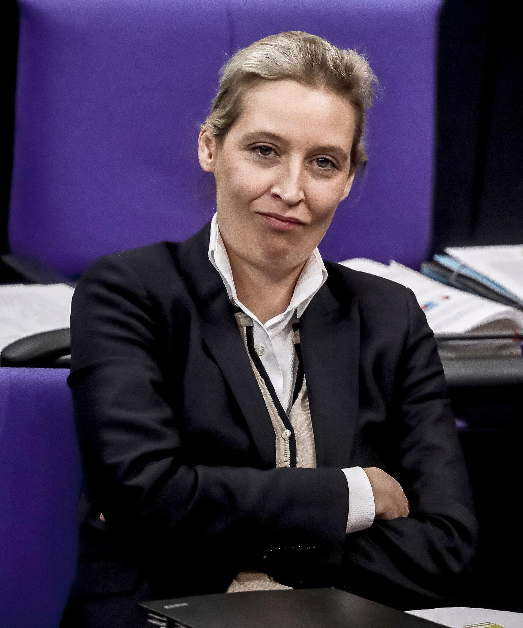 Bild zu Bundestag, Fraktion, Haushaltsdebatte, AfD, Alice Weidel