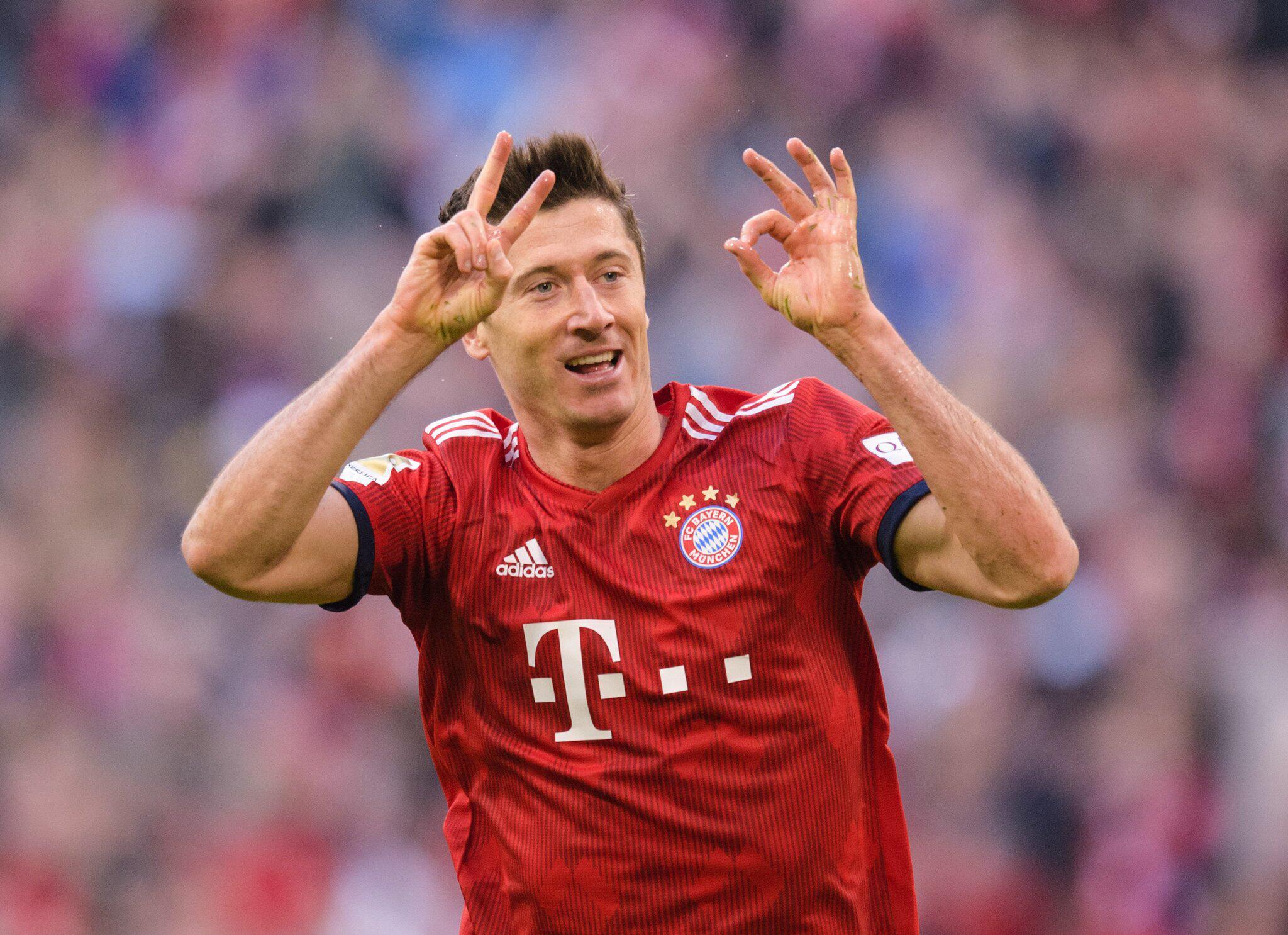 Bild zu FC Bayern - Stürmer Robert Lewandowski
